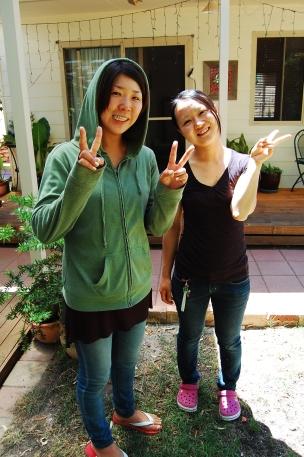 Emma and Kyoko