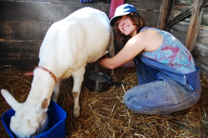 MILKED A GOAT, WHAT.