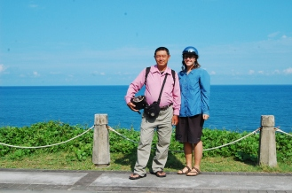 This crazy Taiwanese man forced me to join him at 5 AM to see the famous orange flowers on the mountain