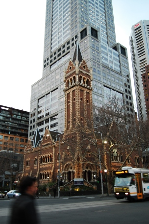 Lots of pretty buildings in Melbourne!