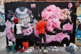 Graffiti artists in St Kilda