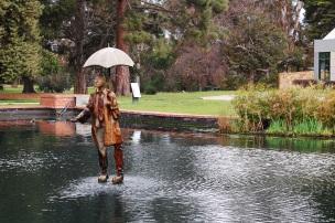Cool statue in St Kilda Botanic Gardens