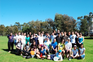 I played ultimate frisbee with these lovely people every Saturday!