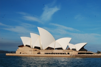 Side view of Opera House