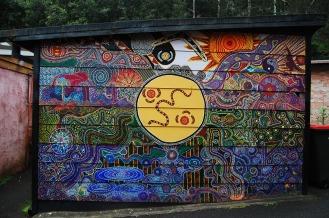 Aboriginal style art