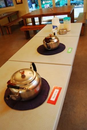 And herbal tea