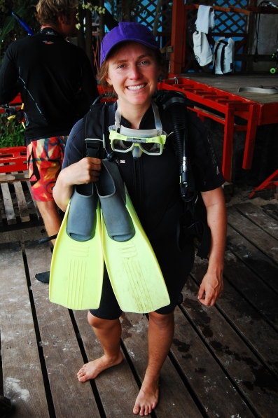 Learning to scuba in Perhentian Islands