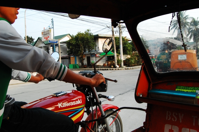 Riding public transport in the Philippines