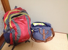 All my stuff for my 5 day trip. I'm getting pretty good at packing light.