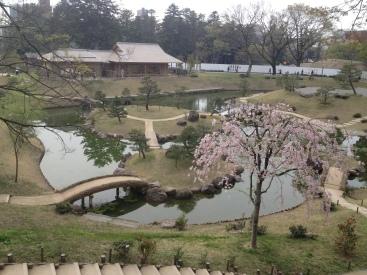 Garden in Kanazawa