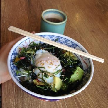 My egg and avocado bowl.