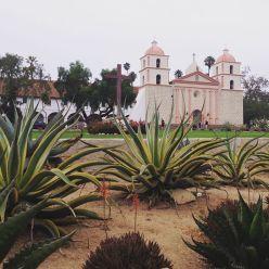 The Santa Barbara mission