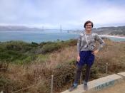 Bridge shot. It was sooo windy!