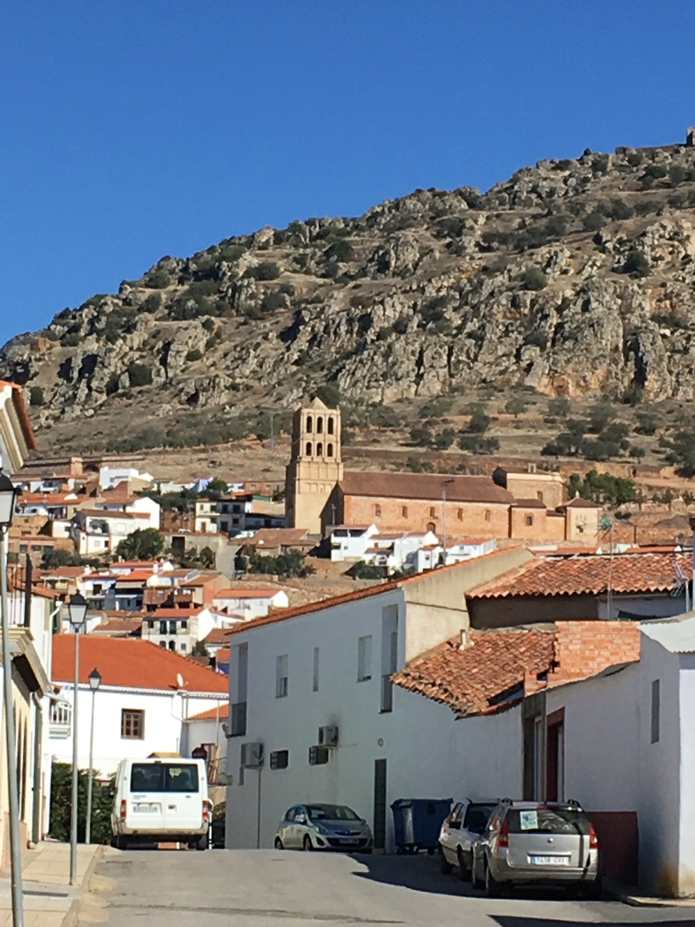View of Hornachos, Extremadura, Spain. I go on walks here in between classes. It's a beautiful and charismastic little town!